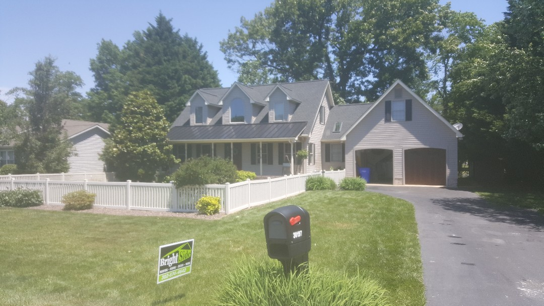 Milton, DE -  beautiful standing seam and Architectural GAF Timberline HD shingles