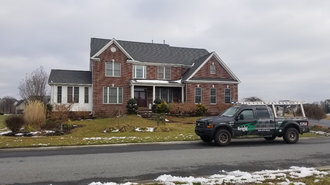 Dover, DE - Beautiful roof replacement using Williamsburg Slate GAF shingles