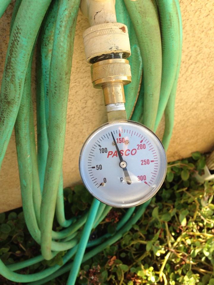 Wildomar, CA - Leak/ pressure regulator