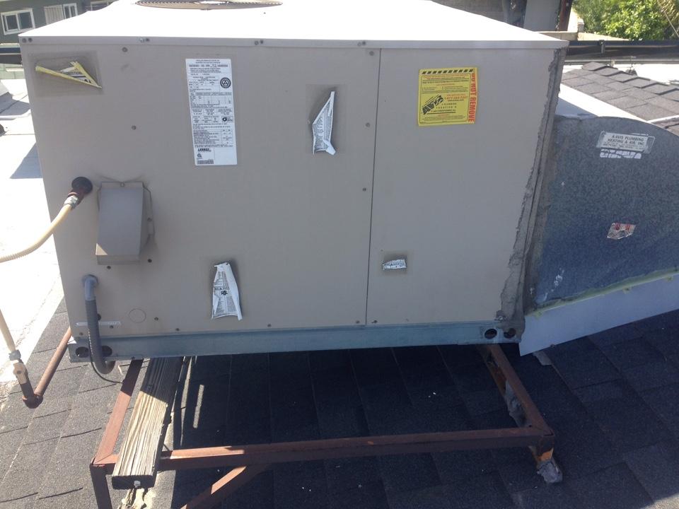 Rialto Ca Performed Prepaid Heating Maintenance For A
