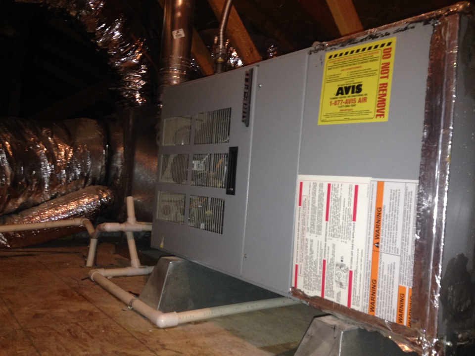 Wildomar, CA - Performed prepaid heating maintenance for a gold club member on a 2004 Aire Flo furnace