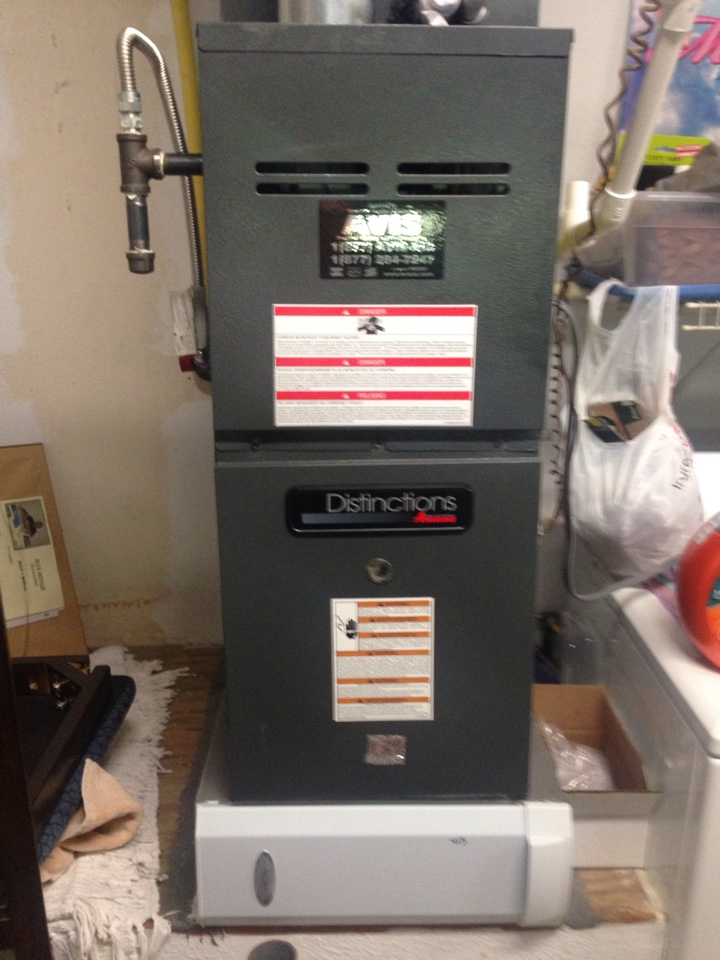 San Dimas, CA - Performed prepaid heating maintenance for a gold club member on a 2011 Amana furnace.