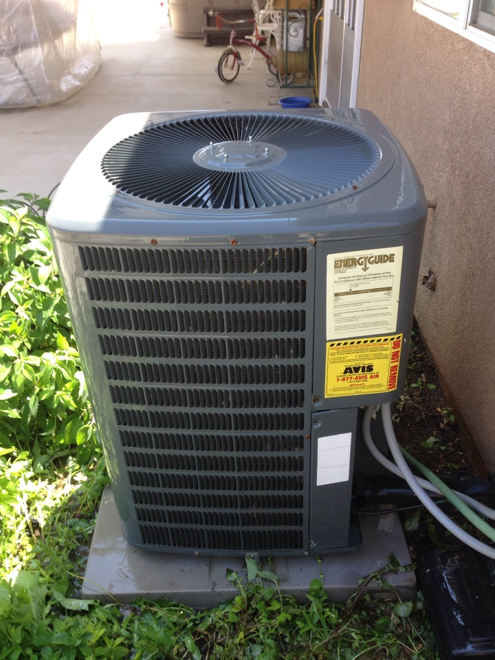 San Jacinto, CA - Performed prepaid air-conditioning maintenance for a gold club member on a 2006 Goodman split system.