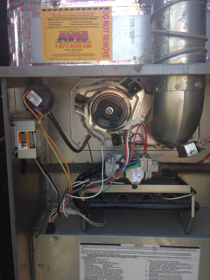 San Jacinto, CA - Hearing and cooling tune up on kenmore 4 ton system