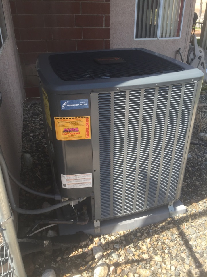 Sun City, CA - Performed AC maintenance system is working great and ready for the summertime