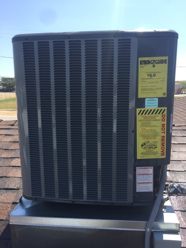 Calimesa, CA - Performed prepaid air-conditioning maintenance for a gold club member on a 2014 Amana split system.