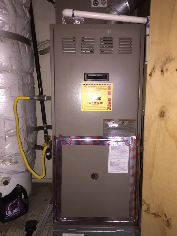 Riverside, CA - Performed prepaid heating maintenance for a gold club member on a 2006 York furnace.