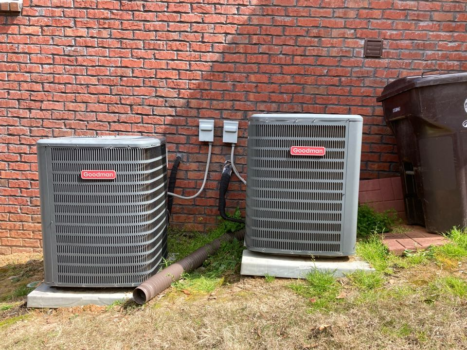 Smiths Station, AL - Completed service call on customers Goodman air conditioning system in Smiths station, Al.