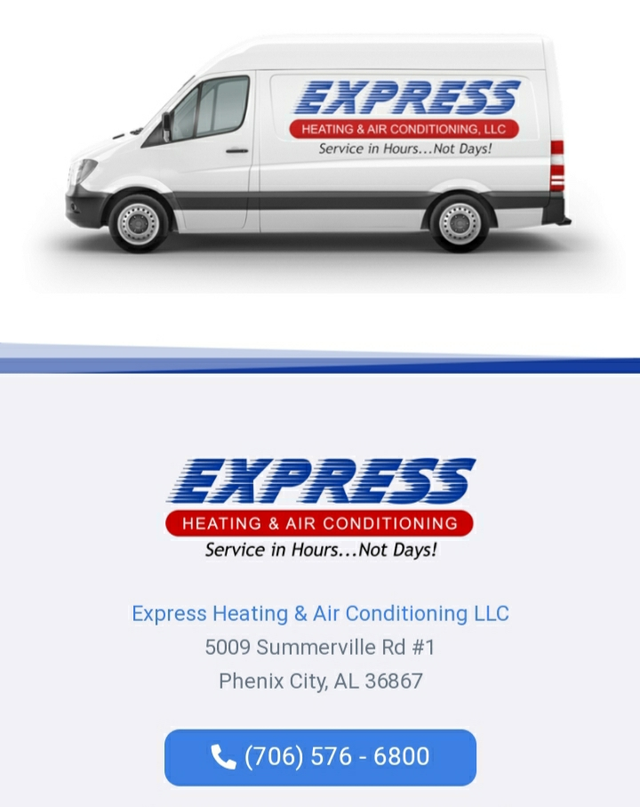 Fort Mitchell, AL - Sales estimate for a new energy efficient heat pump system in Fort Mitchell, AL. Call Express Heating and Air Conditioning for all your home comfort needs 706-576-6800.