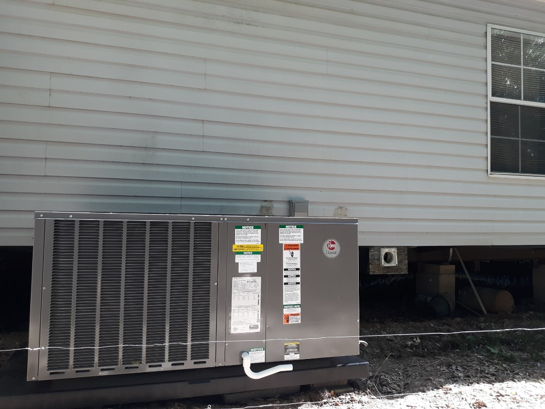 Seale, AL - New system installation for the Perry family in Seale, AL. Call Express Heating and Air Conditioning for all your home comfort needs, 706-576-6800.