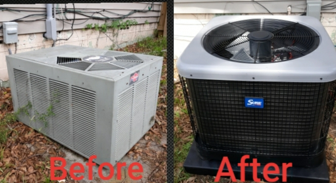 New install for the Purvis family in Columbus, GA. Thank you for trusting Express Heating and Air Conditioning for all your home comfort needs.