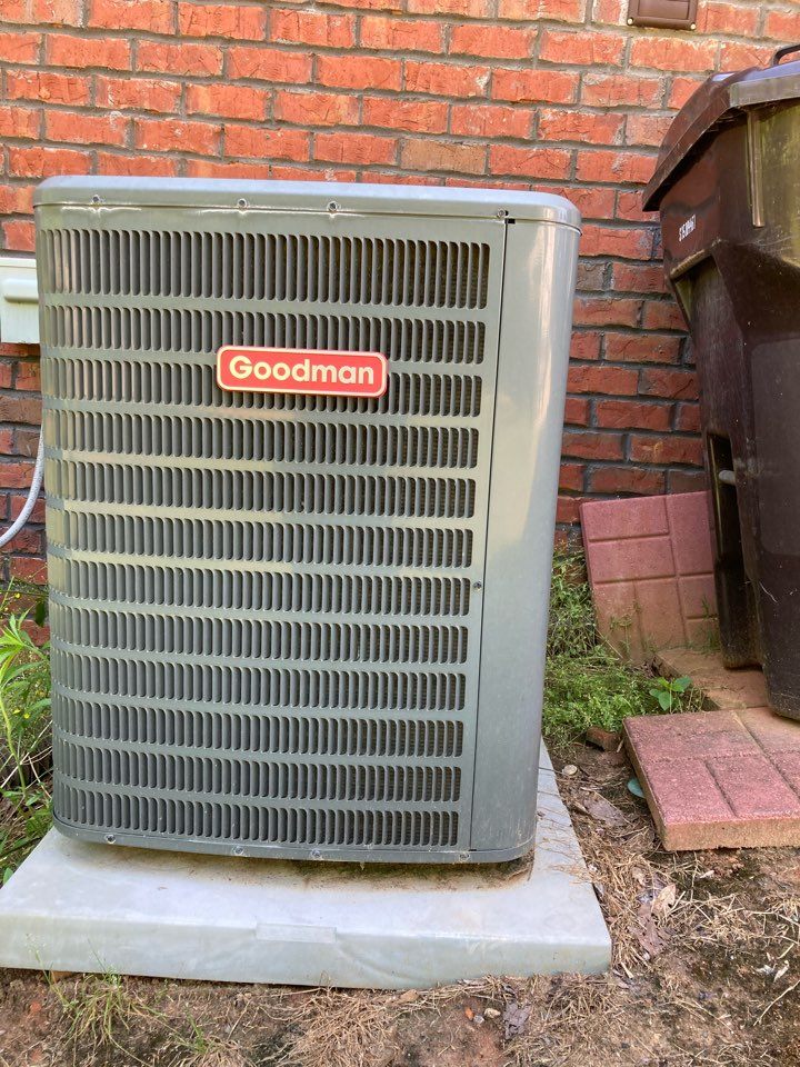 Replaced customer leaking evaporator coil on his Goodman Air conditioning system to get him summer ready.
