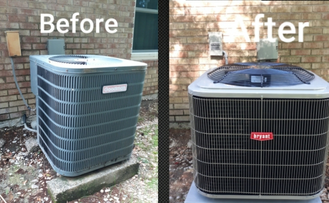Columbus, GA - New system installation for the Jenkins family in Columbus, GA. Thank you for trusting the team at Express Heating and Air Conditioning for your home comfort needs.
