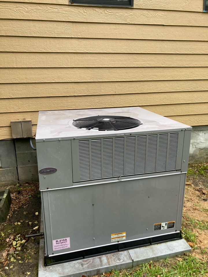 Servicing a Carrier package unit! Smith station Alabama
