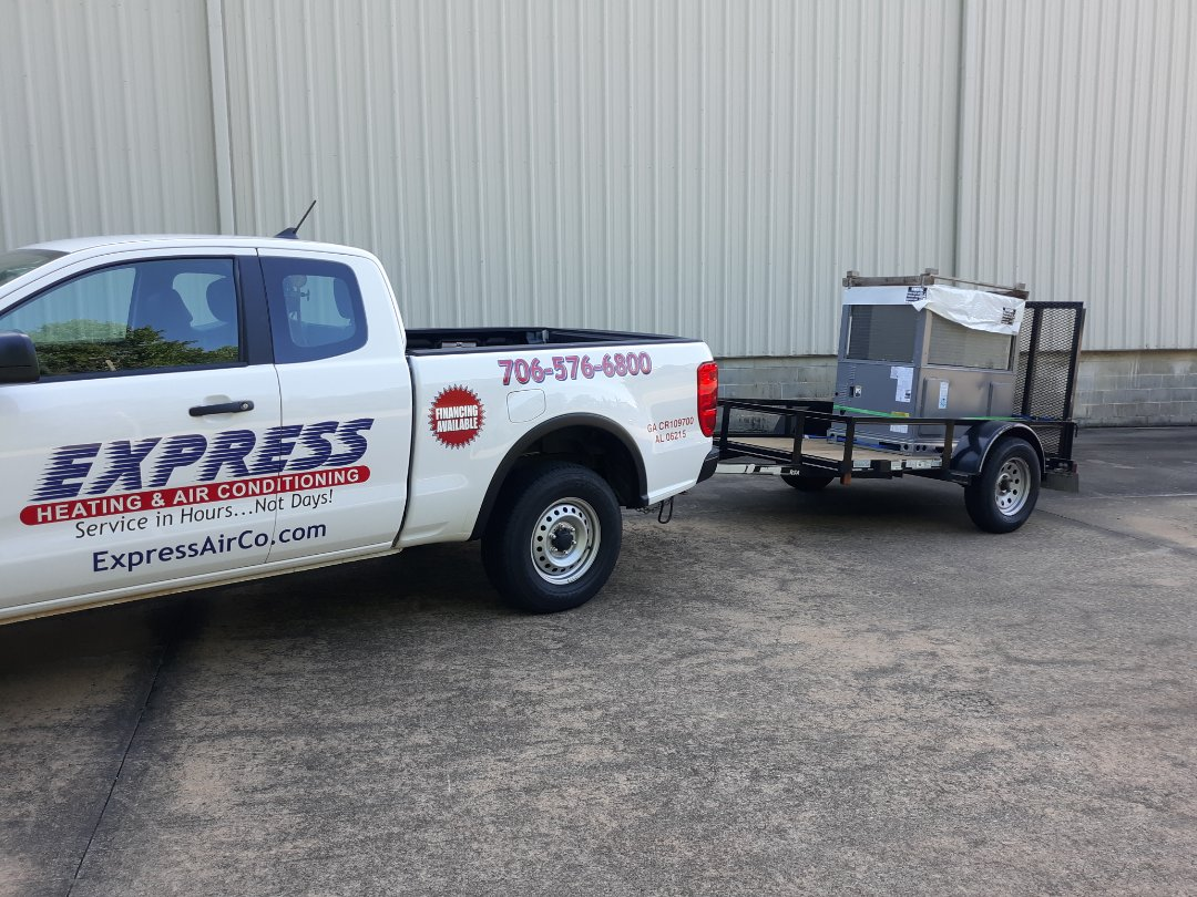 Summer is here and we are in full gear, it's that time of the year!! Call Express Heating and Air for your next AC upgrade 706-576-6800.