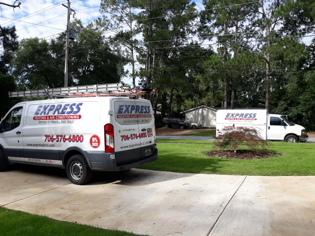 Our crew is ready to install your next air conditioner upgrade a moment's notice!! Call Express Heating and Air Conditioning at 706-576-6800 to schedule your comfort consultation now.