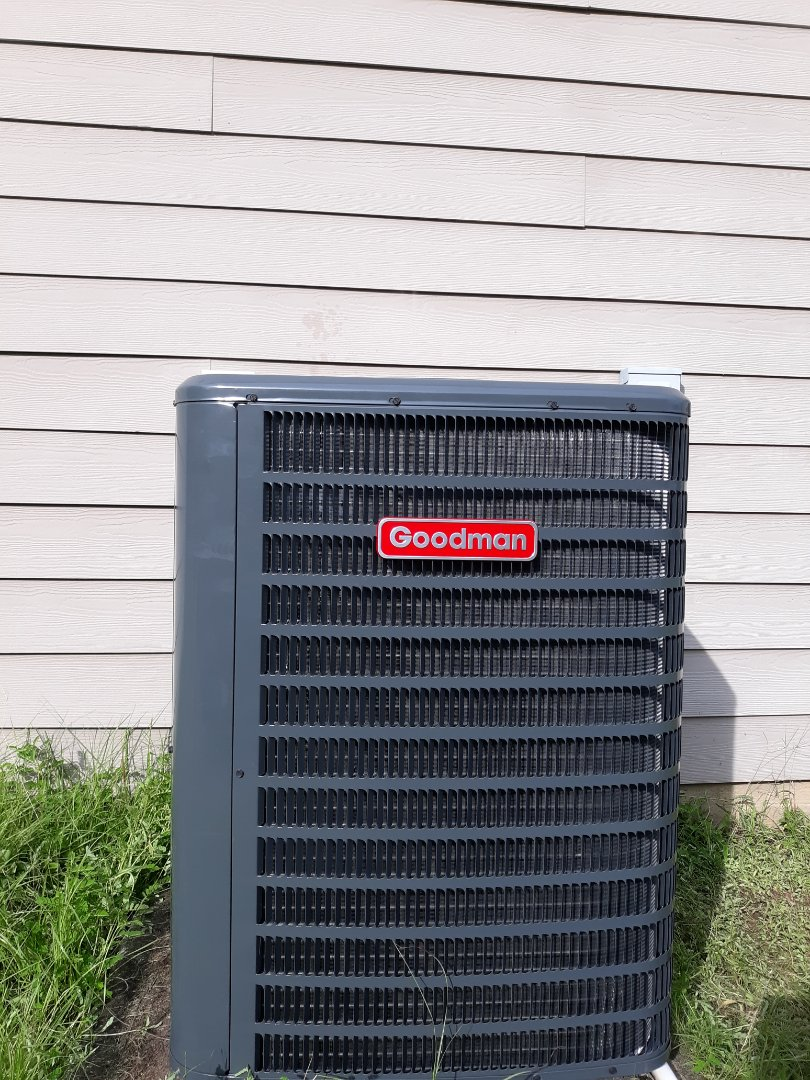 New heat pump install in Phenix City, AL. Thank you for trusting Express Heating and Air Conditioning.