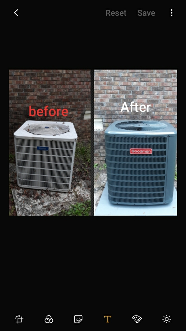 New hvac system update for Mrs. Stringer in Smith Station, AL. Thank you for trusting the team at Express Heating & Air Conditioning, 706-576-6800.