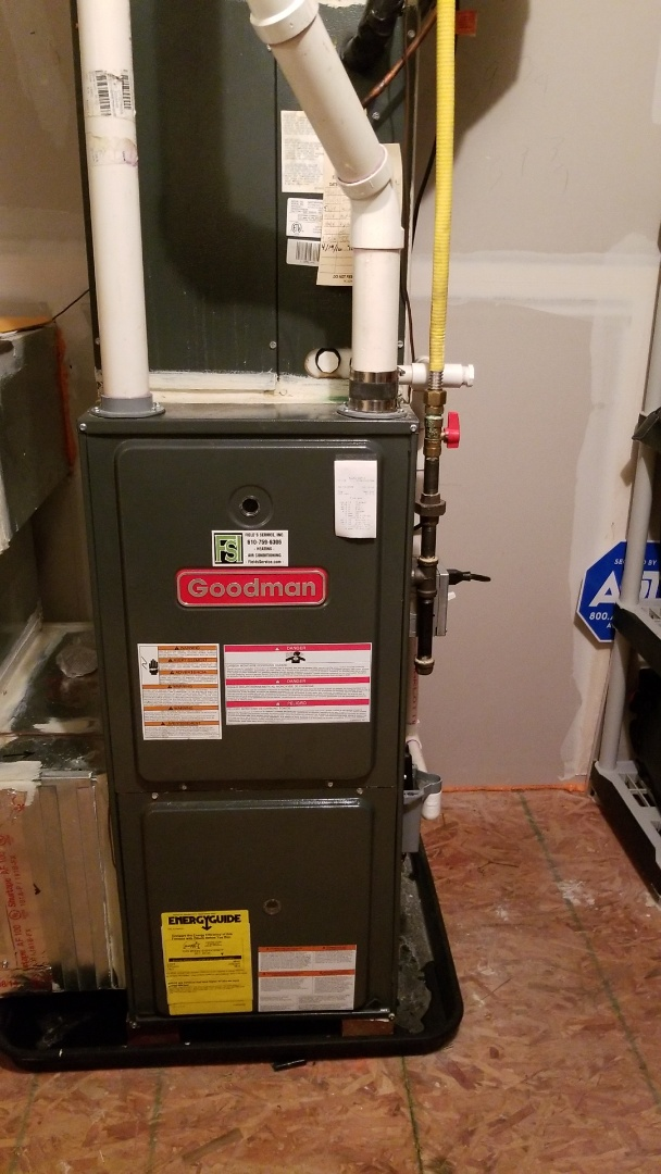 Bethlehem, PA - Goodman had furnace repair
