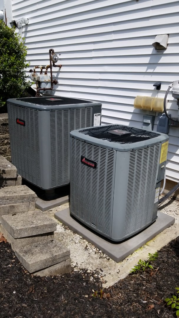 Nazareth, PA - Warranty repair on Amana air conditioning system