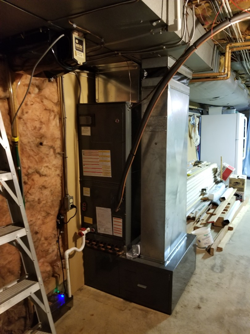 Easton, PA - Central air conditioning replacement