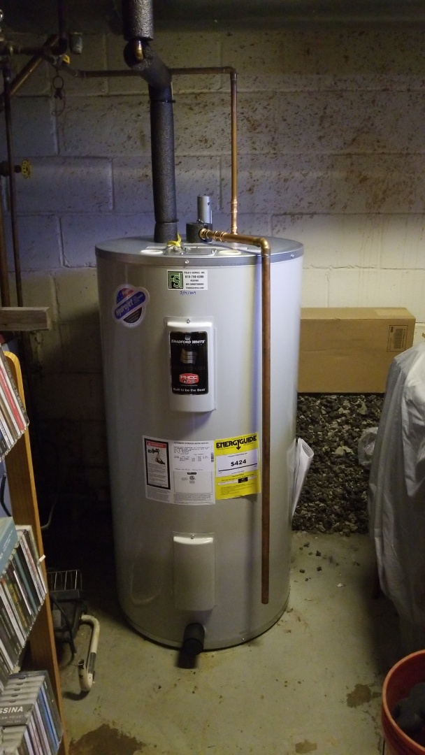 Nazareth, PA - Bradford White Electric water heater replacement
