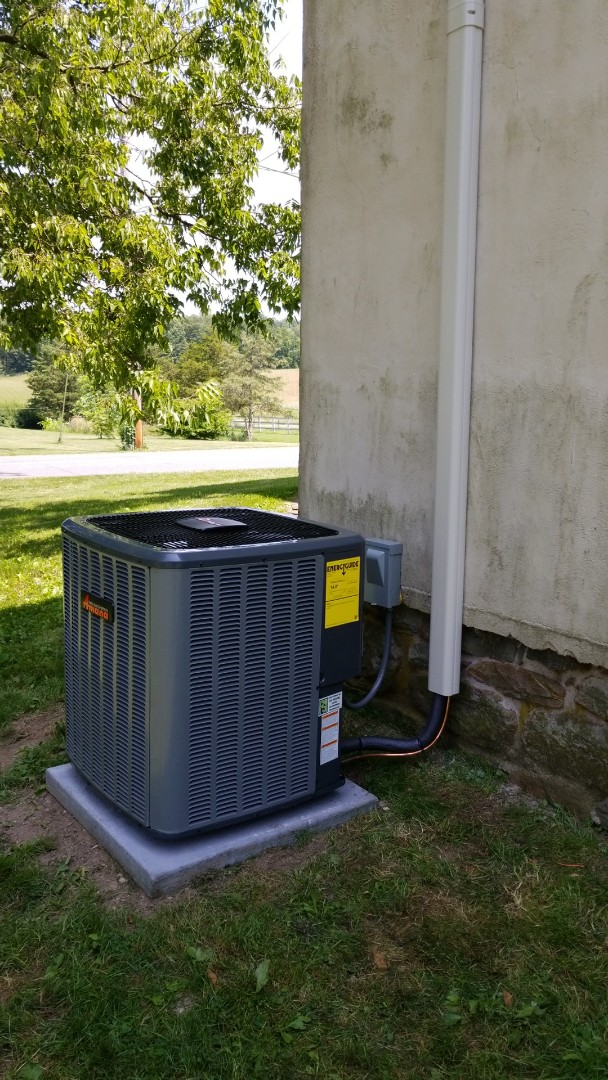 Bangor, PA - Unico central air conditioning installation