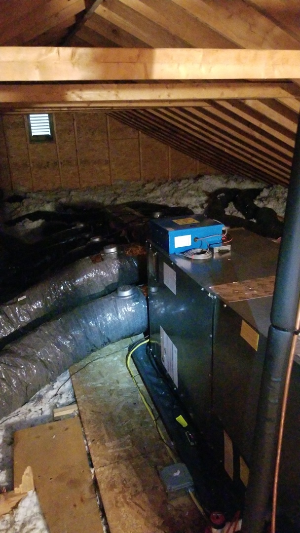 Bangor, PA - Zoned central air conditioning system installation