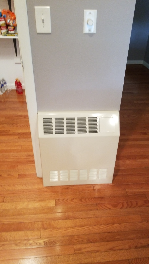 Easton, PA - Hydronic heater installation