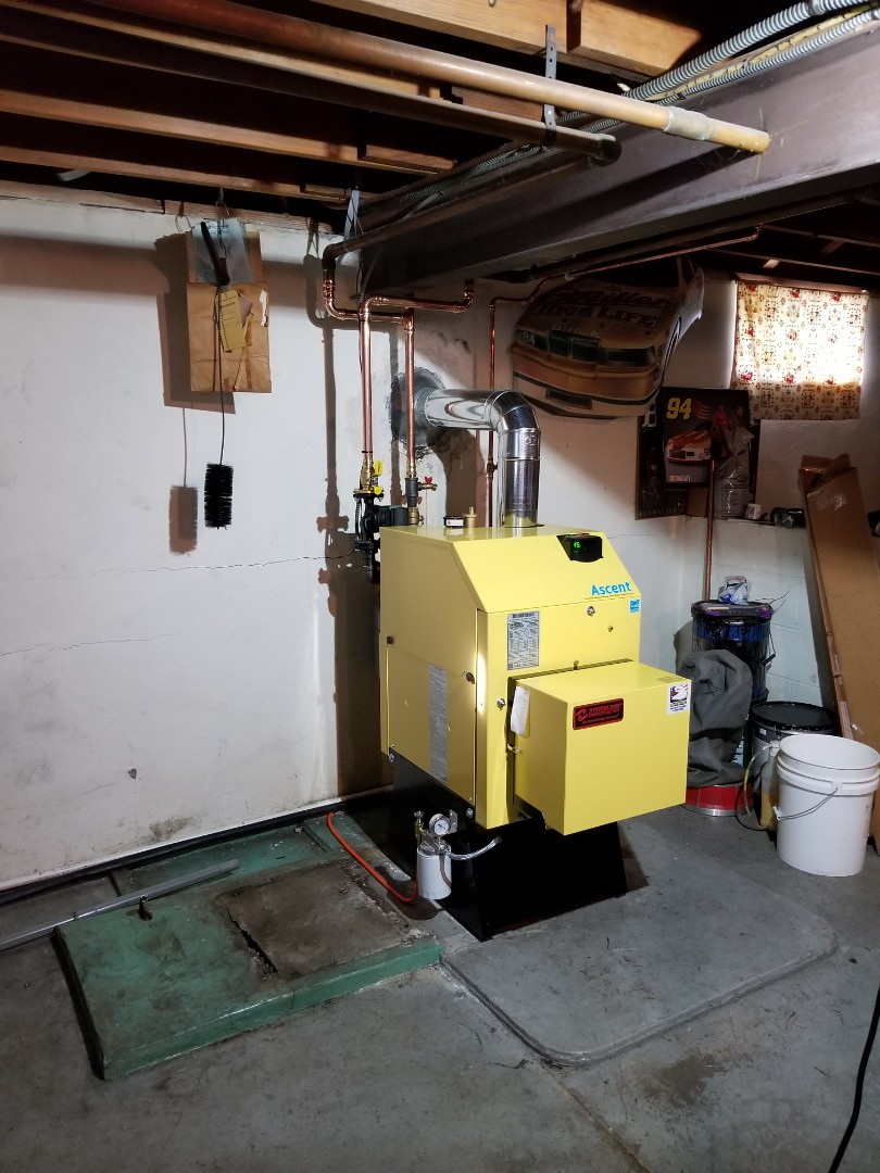 Bath, PA - Oil boiler replacement