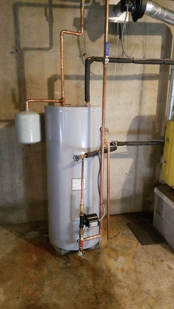 Nazareth, PA - Energy Kinetics storage tank replacement