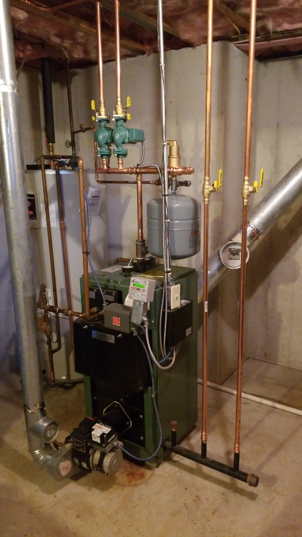 Nazareth, PA - New Yorker boiler upgrades and repipe