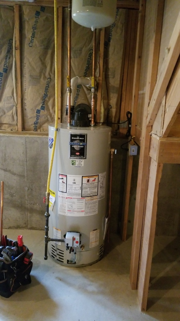 Easton, PA - Gas water heater replacement