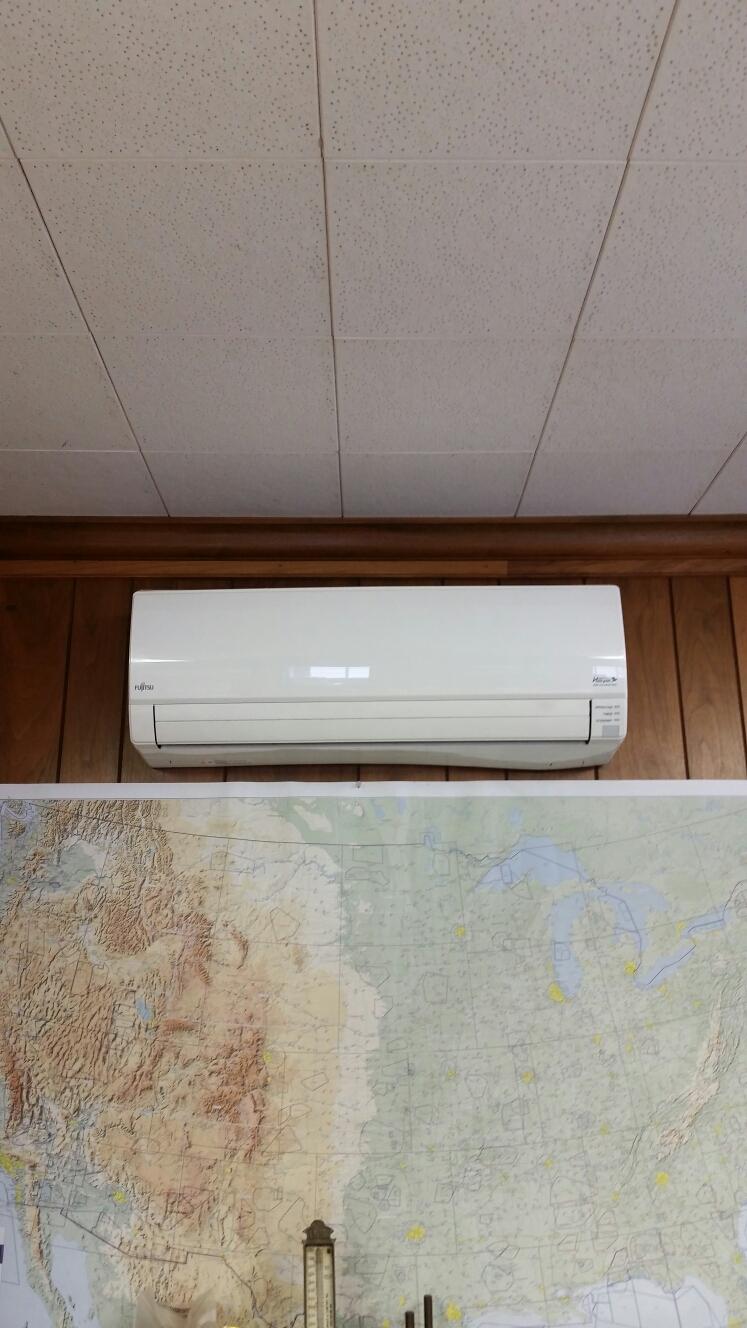Belvidere, NJ - Mini split air conditioner service. Fujitsu