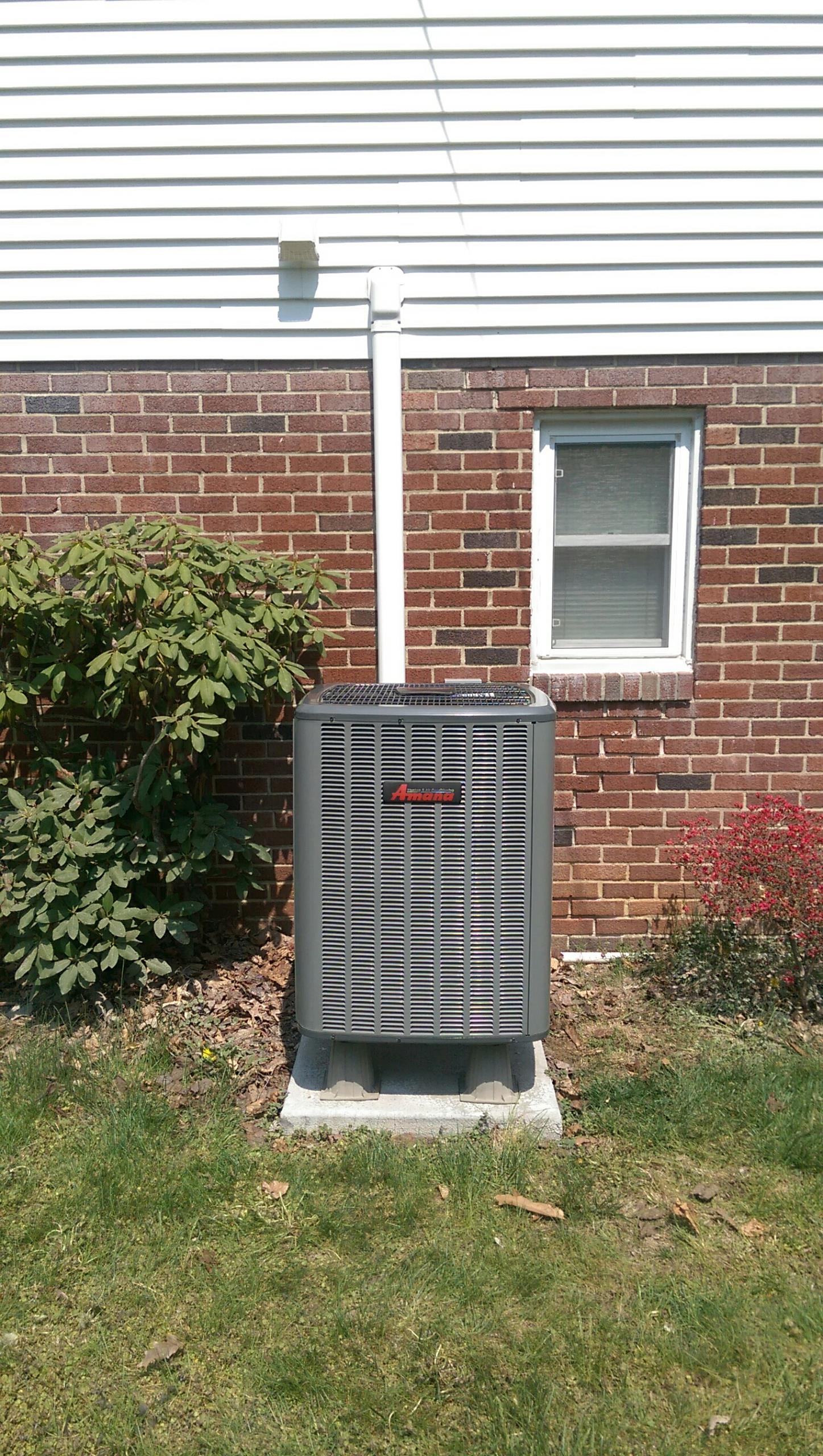 Allentown, PA -  Precision tune up on an Amana air conditioner.