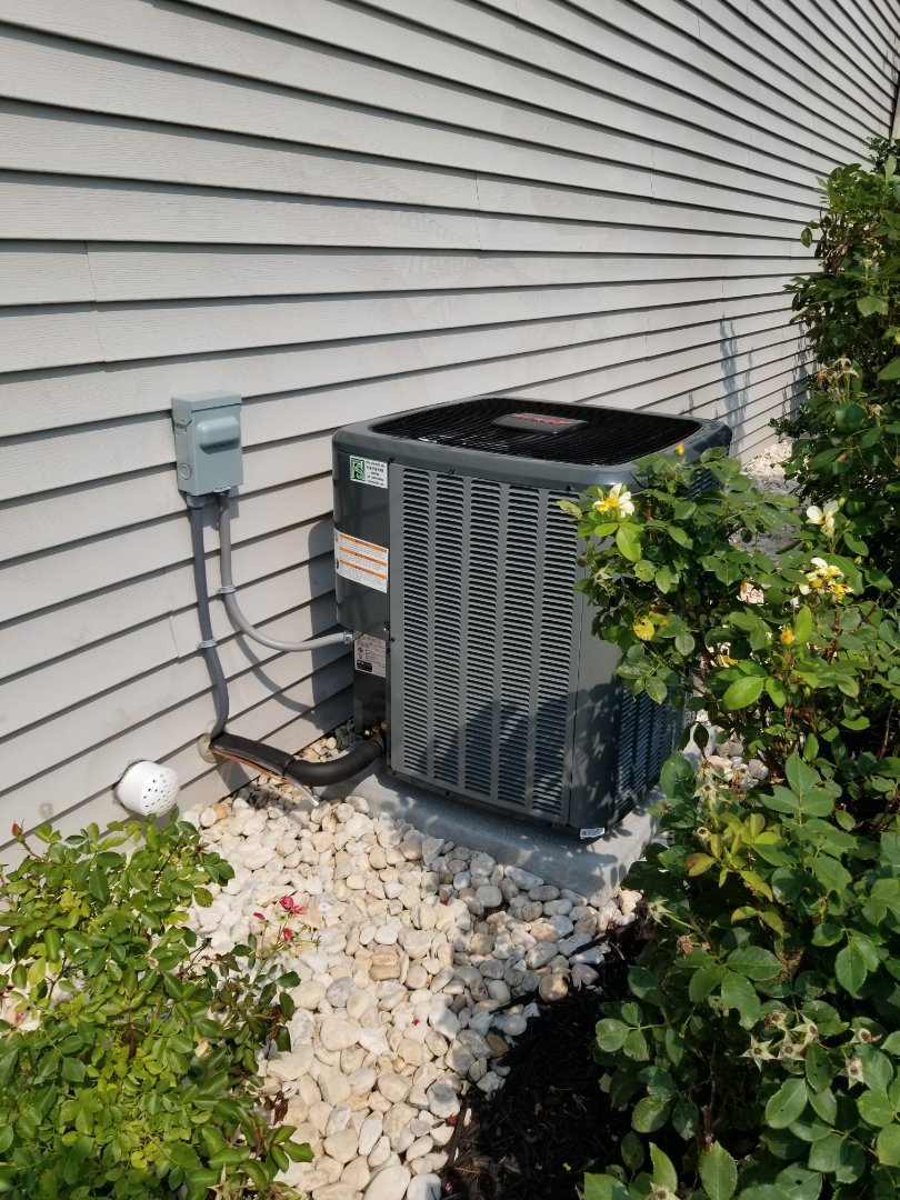 Easton, PA - Central air conditioning system replacement