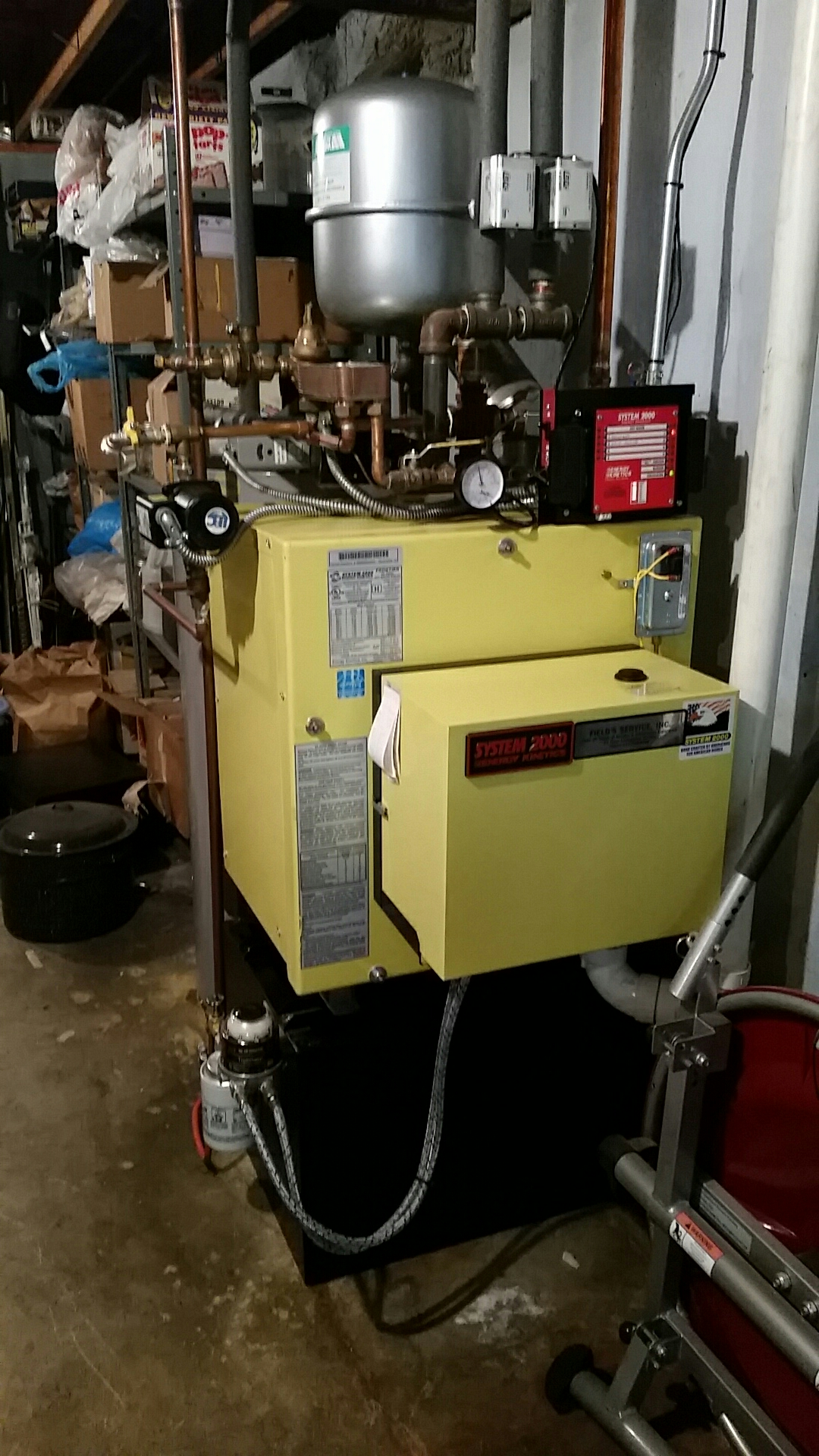 Walnutport, PA - Oil burner cleaning