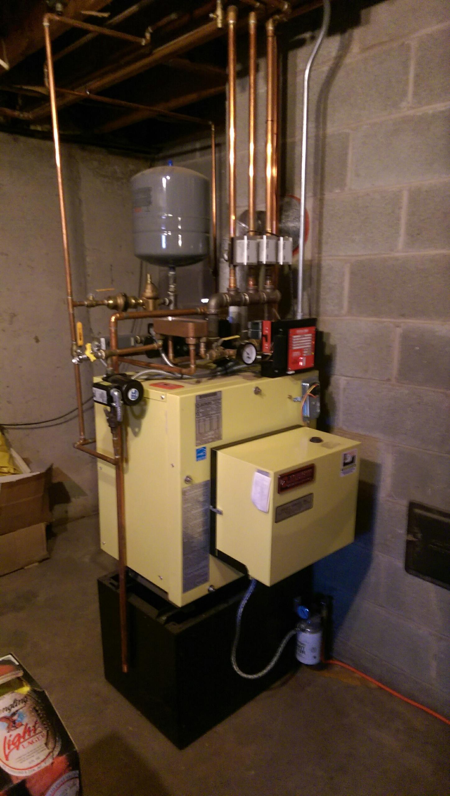 Bangor, PA - Precision oil tune up on a Energy Kinetics system 2000.