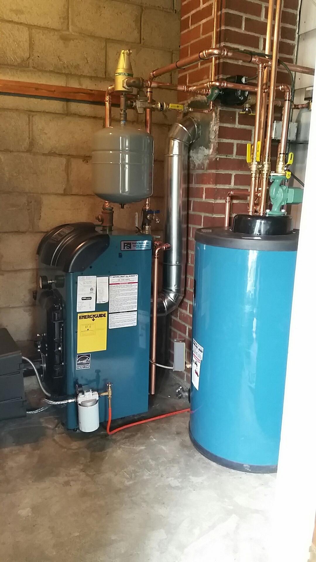 Bangor, PA - Oil boiler replacement