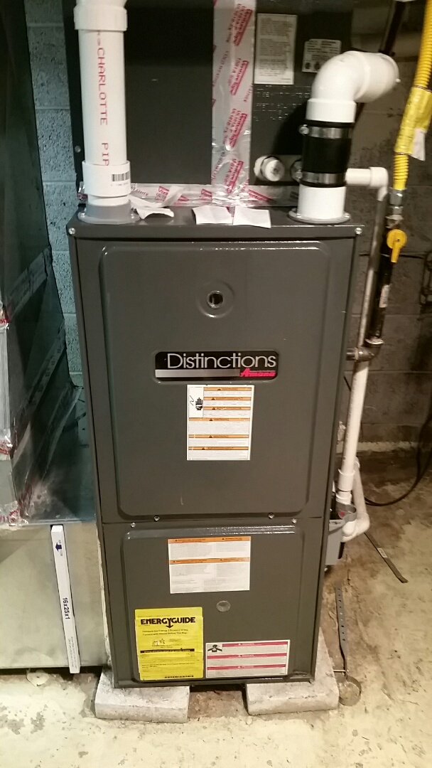 Hellertown, PA - Carbon monoxide check on gas furnace