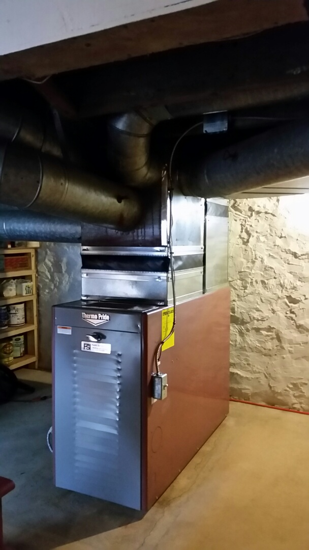 Wind Gap, PA - Replacing oil furnace and electric water heater