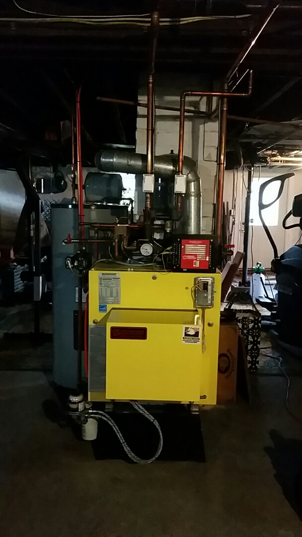 Saylorsburg, PA - System 2000 oil boiler cleaning