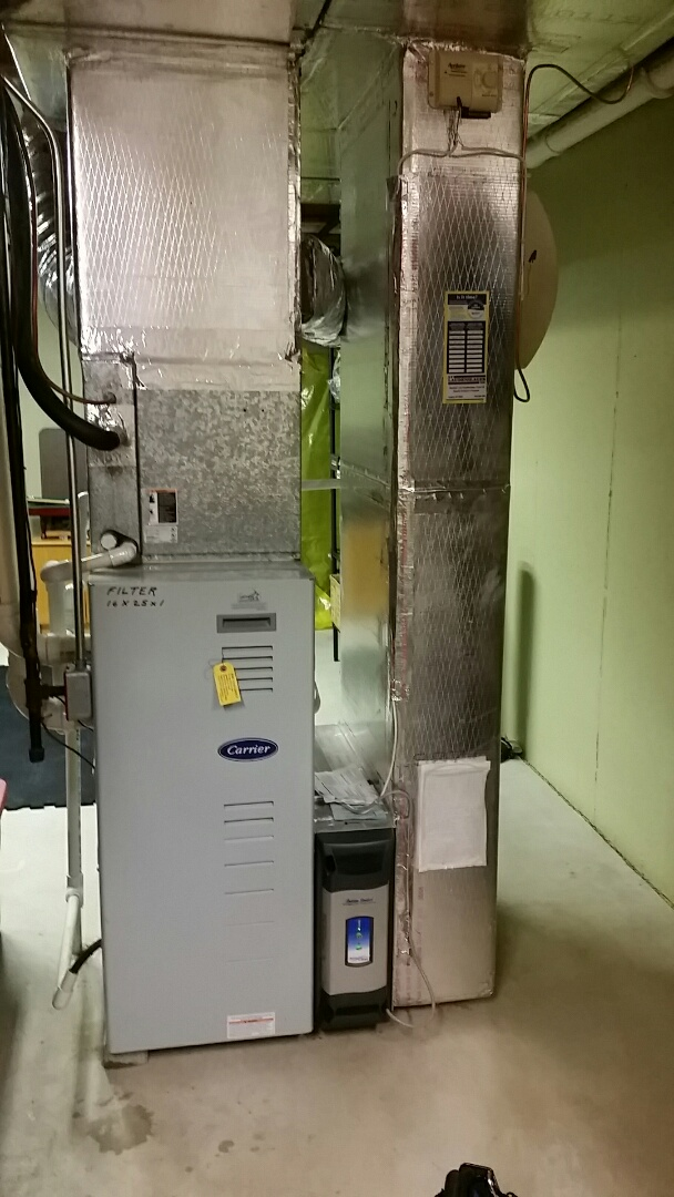 Allentown, PA - Replacing draft inducer assembly on Carrier gas furnace