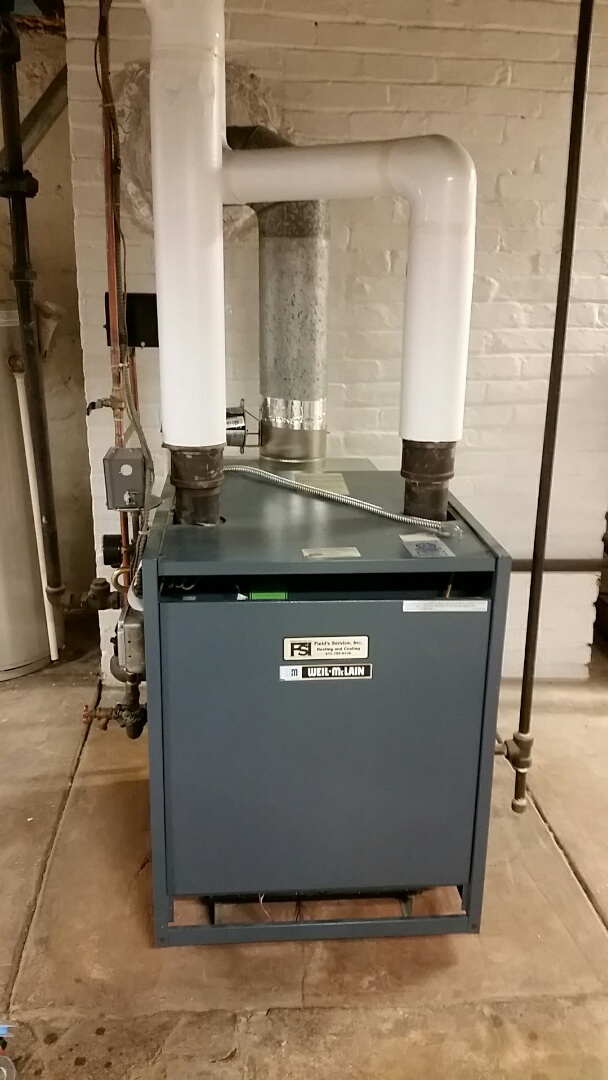 Bethlehem, PA - Replacing thermocouple on Weil McLain steam boiler
