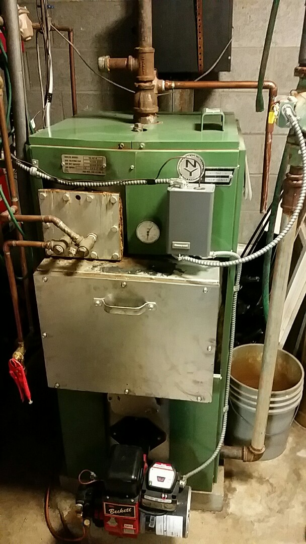Portland, PA - Oil boiler service
