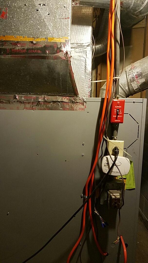 Easton, PA - Strange noise coming from furnace when fan runs