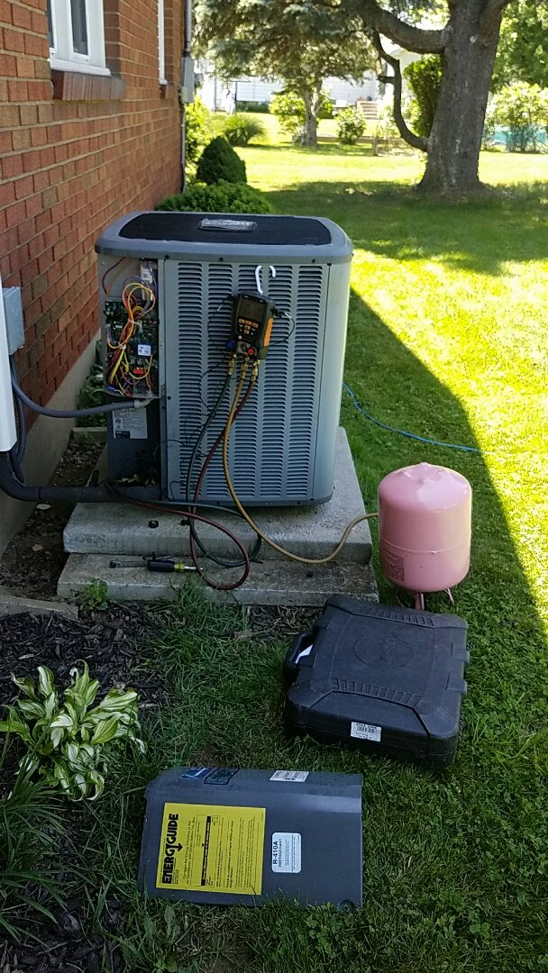 Bethlehem, PA - Replacement of evaporator coil under warranty