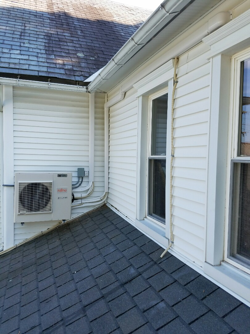 Pen Argyl, PA - Installation of Fujitsu ductless air conditioners