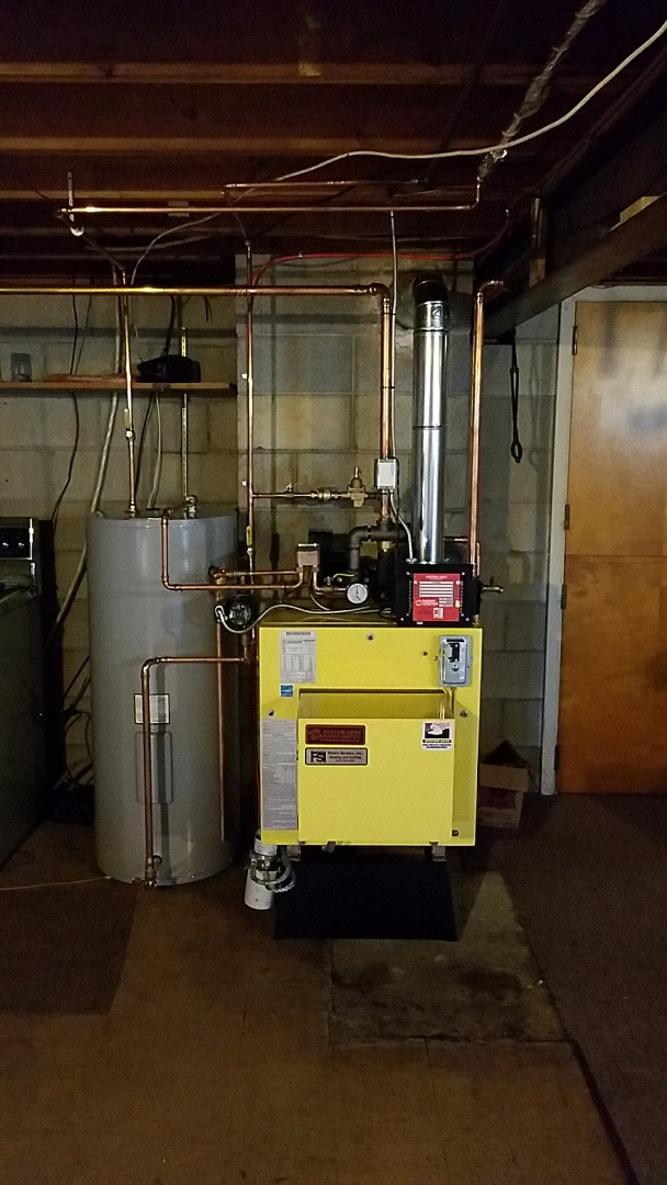Nazareth, PA - Replacement of oil boiler with an Energy Kinetics System 2000