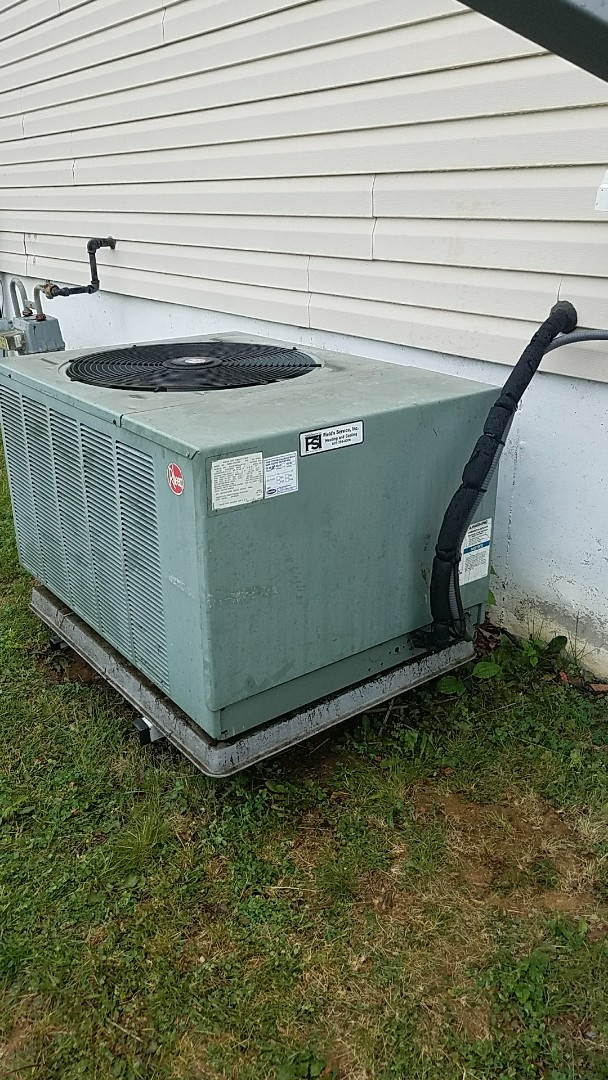 Bethlehem, PA - Replacement of leaking evaporator coil and retrofitting with R22 replacement refrigerant